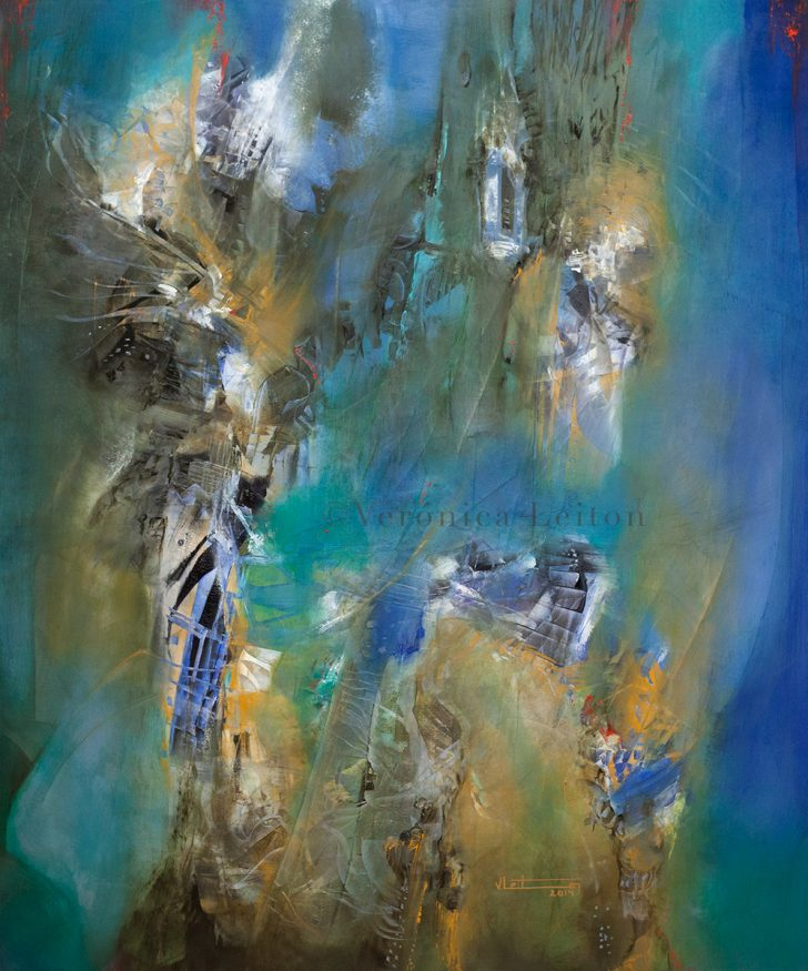 Oil on canvas / 47.2x39.4x2 / 2014