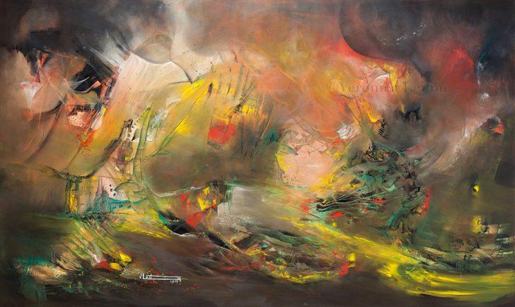 Oil on canvas / 47.2x78.7x2.6 / 2014