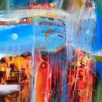 """Autumn´s Mist - Oil on canvas / 31.5"""" x 23.6"""" x 2"""" / 2019"""
